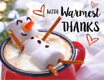 Our Warmest Thanks